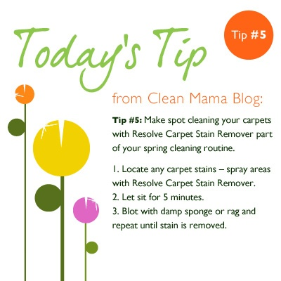 how to clean a worn spot on carpet