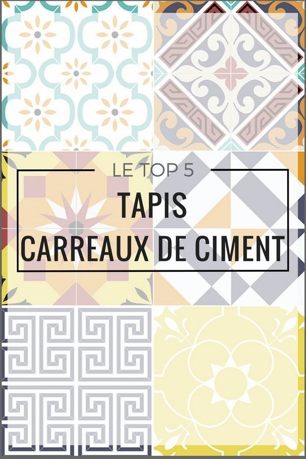 25 best ideas about tapis carreaux ciment on pinterest - Saint maclou tapis de couloir ...