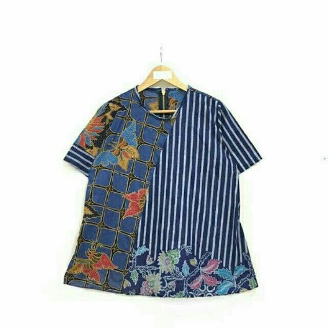 Saya menjual Blouse batik pendek zipper seharga Rp114.000. Dapatkan produk ini hanya di Shopee! https://shopee.co.id/nurika.batik/212985836 #ShopeeID