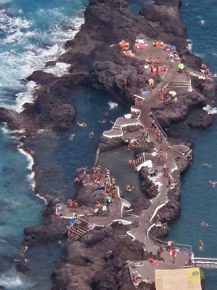 """Piscinas Naturales """"el caletón"""" Garachico, Tenerife, Islas Canarias, Spain"""