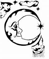 Sun And Moon Coloring Pages -