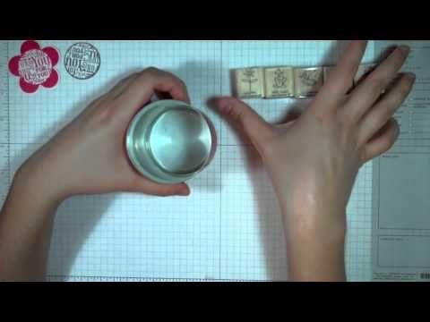 Stampin' Up! en Español: Lata Abre-fácil Decorada