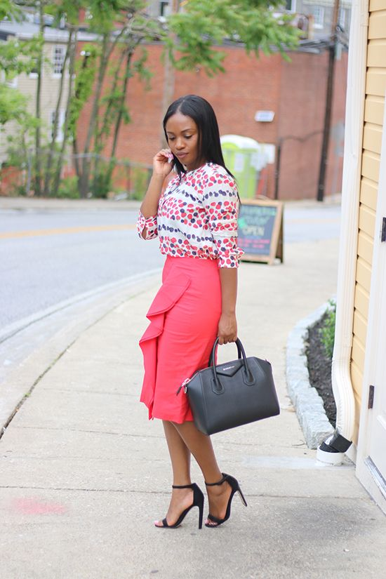 |OUTFIT|   ::   Top : J Crew ( here ) Love this ( here )   Skirt : J Crew ( here ) Love these options ( here ) ( here )   Bag : ( here ...