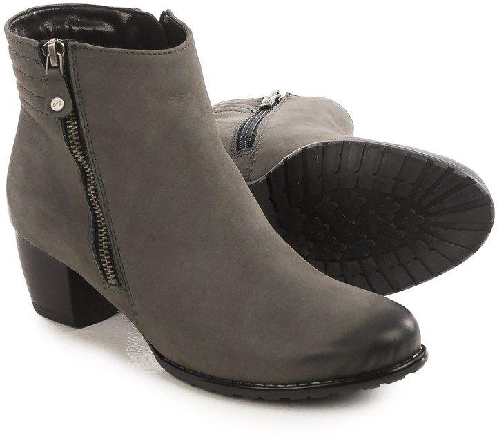 ara Florrie Ankle Boots - Nubuck, Side Zip (For Women)