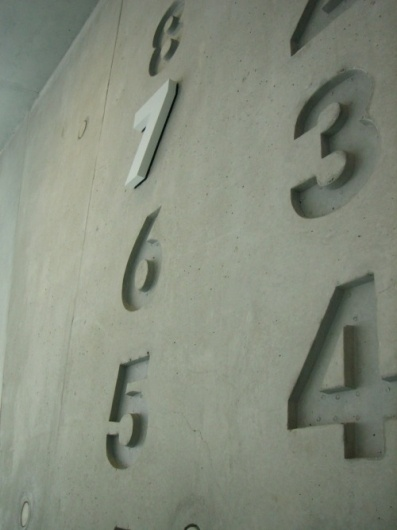 floor numbers. 7