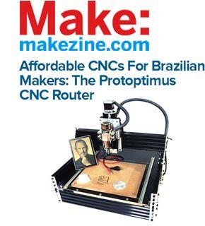 The Protoptimus Open Source CNC Machine
