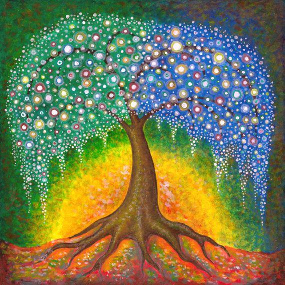 Tree of Life Giclee Fine Art Print by JasonGianfriddo on Etsy