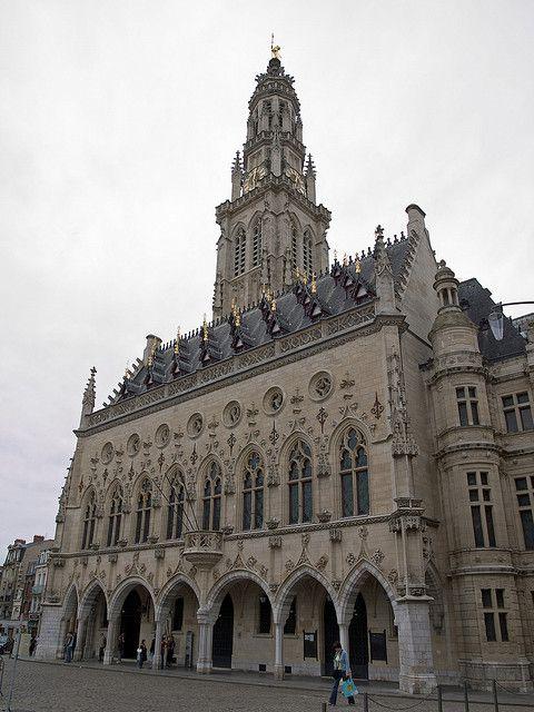 Hotel de Ville, Arras, France
