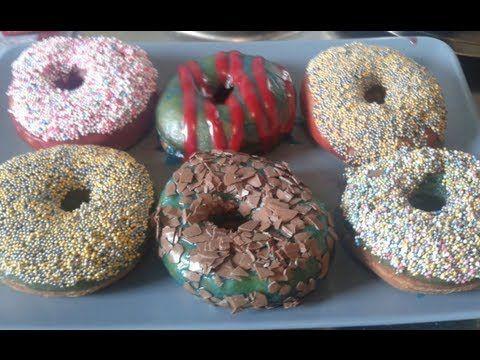bunte donuts schnell und einfach selber machen ohne donutformen mit andy rezepte. Black Bedroom Furniture Sets. Home Design Ideas
