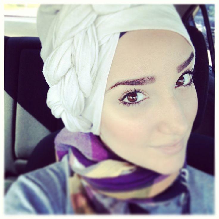 Hijab Tutorial #28 (Side-Braid Turban)