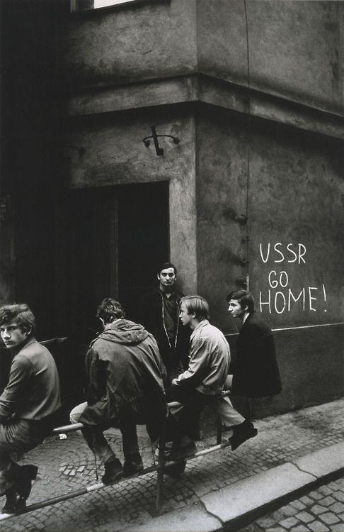 Josef Koudelka - Prague (1968)