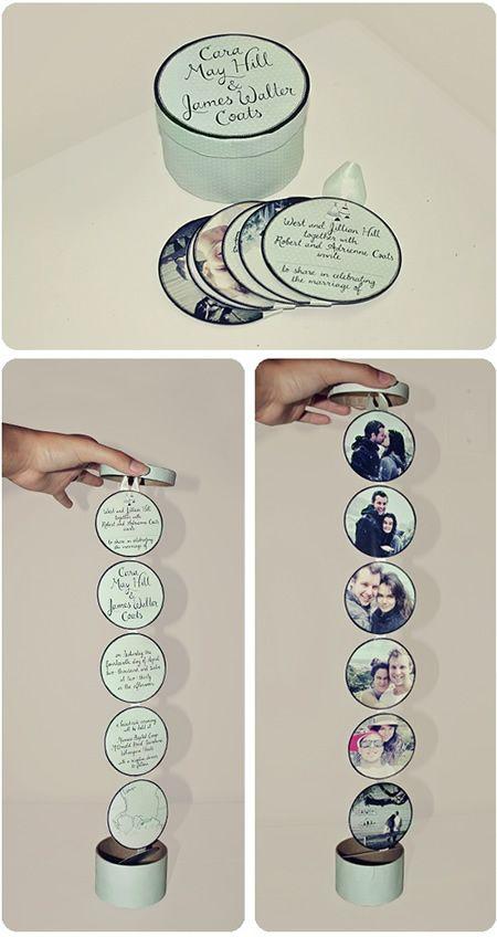 Lindos convites de casamento para inspirar o seu! #wedding #convite #papelaria #criativo