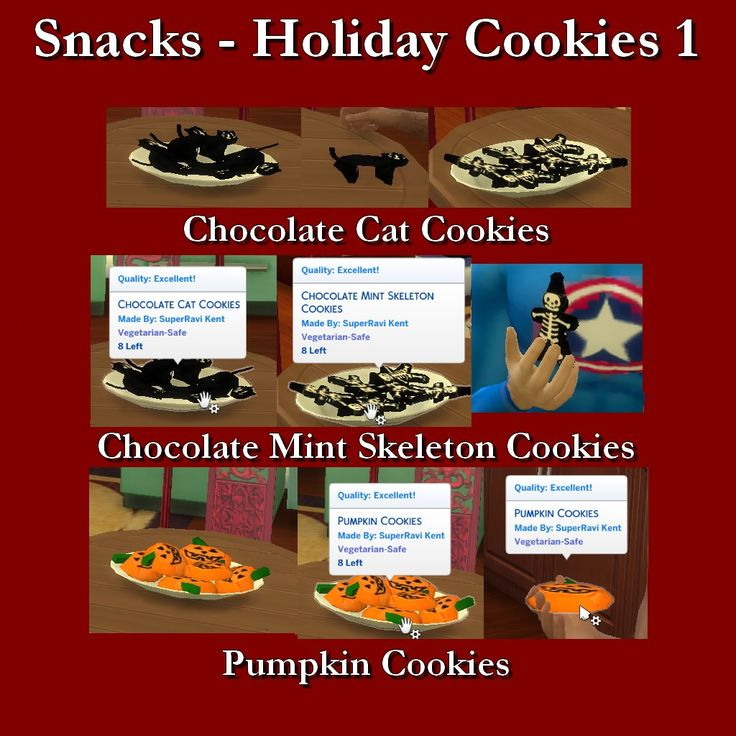 38 Best Sims 4 CC Food {Edible} Images On Pinterest