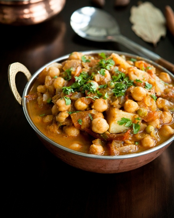 Aloo Chole/Potatoes & Chickpeas  Vegetarian dinner option/gluten free