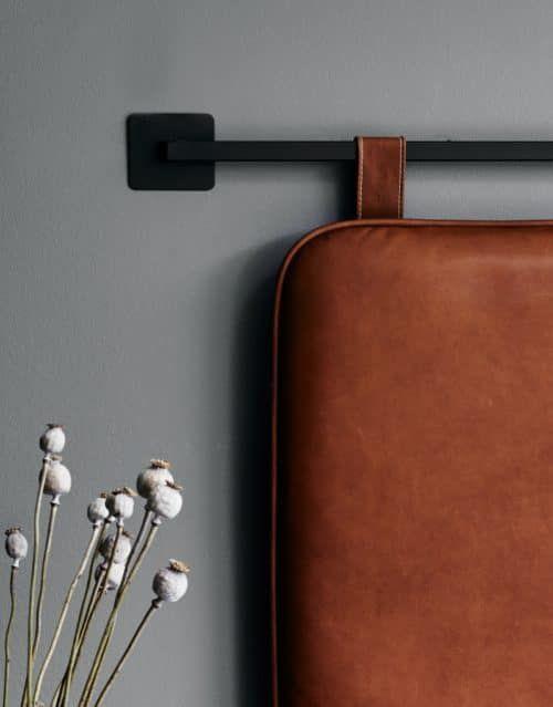 The M Headboard - Cognac leather headboard | BY THORNAM ... on Cognac Leather Headboard  id=19996