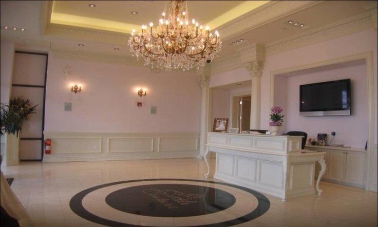 Small Spa Reception Area