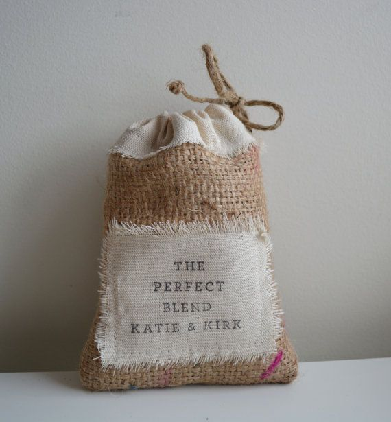 ... Custom Wedding Favor Bags Recycled Coffee Bean by juliasugden, USD300.00