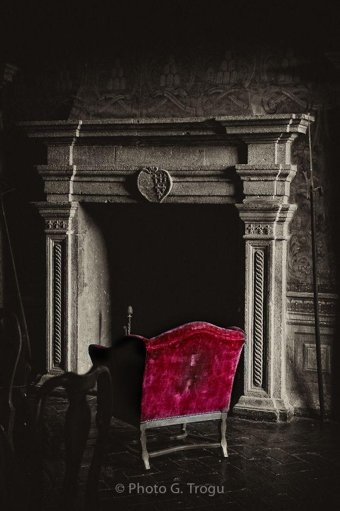 Piano Nobile. First floor of the Ruspoli castle.