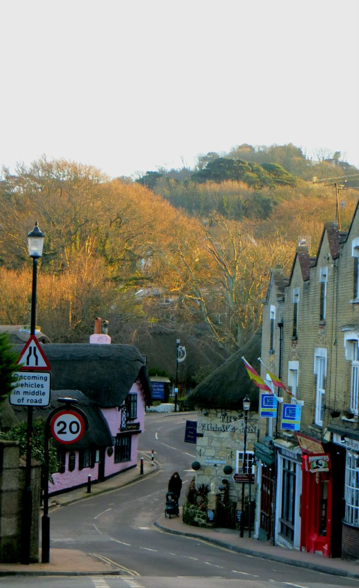 Shanklin, Isle of Wight, England.