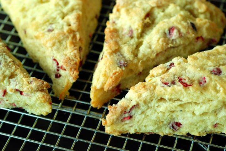 Cranberry-Orange Scones   Breads/sweet bread   Pinterest