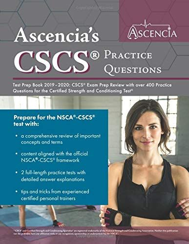 CSCS Practice Questions Test Prep Book 2019-2020: CSCS Exam Prep