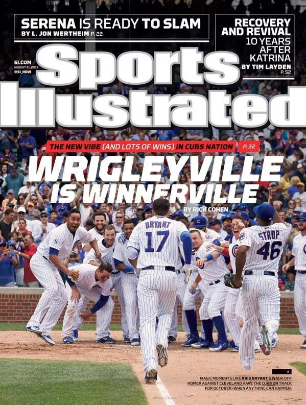 chicago cubs sports illustrated cover | Chicago Cubs land on Sports Illustrated cover | ChiCitySports.com ...