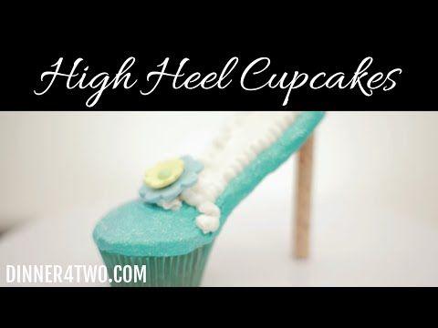 High Heel Cupcakes - YouTube