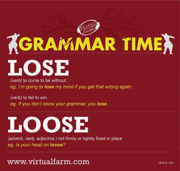 STOP! Grammar Time
