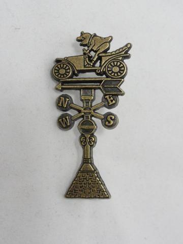 Walt Disney Imagineering Exclusive Limited Edition 300 MR. TOAD'S WILD RIDE Bronze WEATHERVANE 2010 WDI Pin