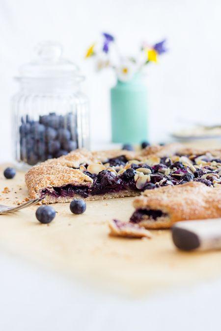 Blueberry Galette // Heidelbeer-Galette