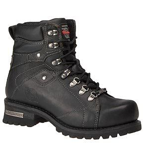Milwaukee Motorcycle Clothing Company Jackhammer Leather Men's Motorcycle Boots (Black, Size 8D) - Milwaukee Motorcycle Clothing Company Jackhammer Leather Boot is specially designed for bike riders. It is rough and ready from the start and features