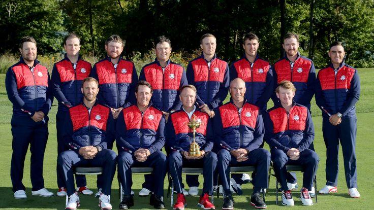 2016 Ryder Cup - Team Photocalls