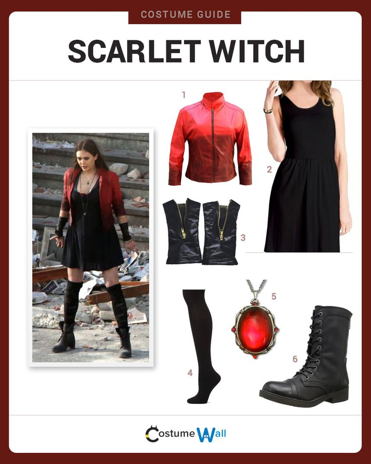 Dress like Scarlet Witch from the Avengers. Get cosplay inspiration and more Scarlet Witch costume ideas.