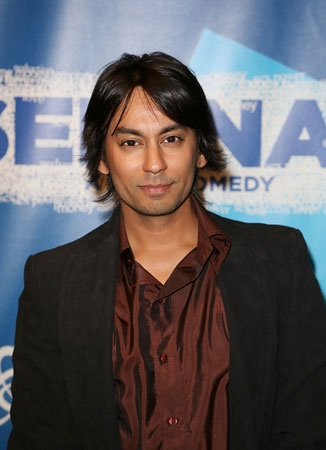 Actor Vik Sahay was at the Center Theatre Group opening of Seminar.(© Ryan Miller/Capture Imaging)