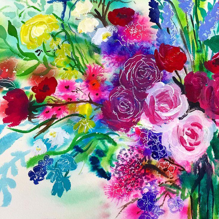 Bright detail, Carol Clough