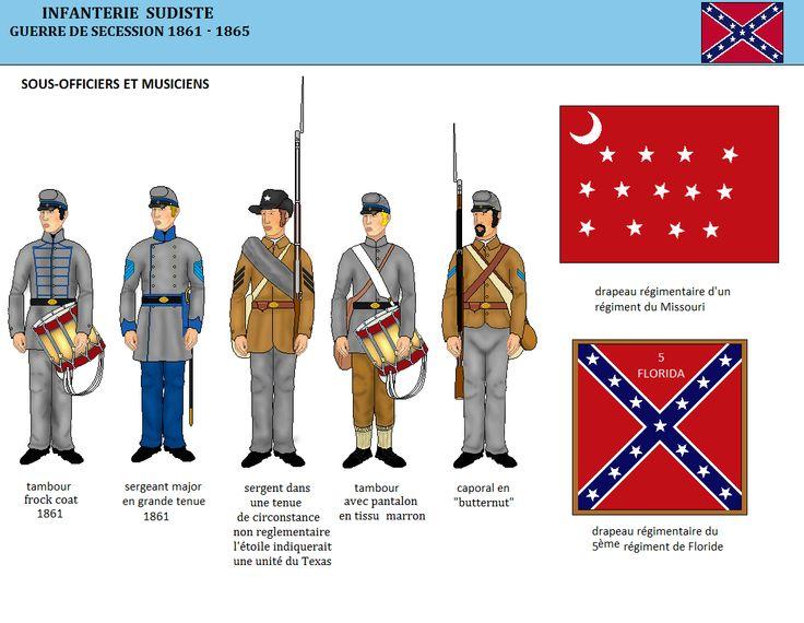 Le gris des uniformes de l'armée régulière n'étant pas toujours de très bonne qualité les teintes ne se fixaient pas très bien sur les tenue...