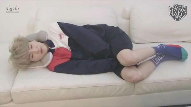 Sleeping Yoongi