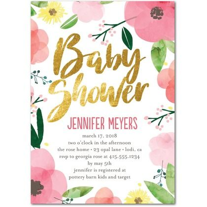 46 Best Baby Shower Invitation Templates Images On Pinterest