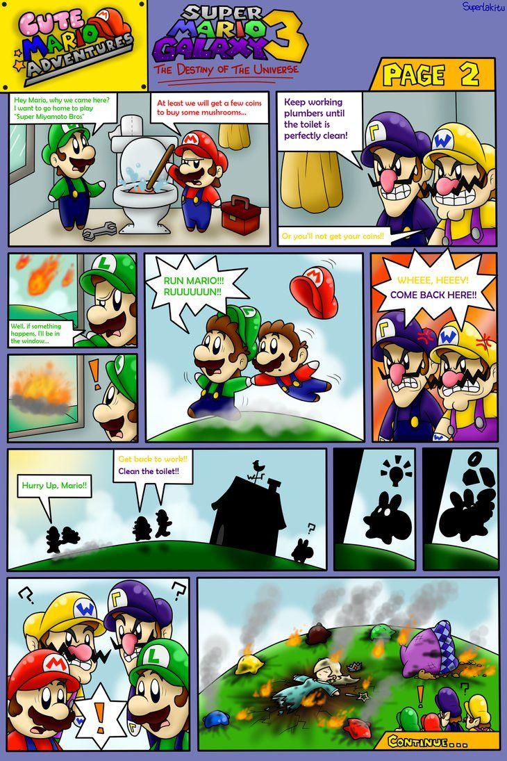 Cute Mario Adventures Super Mario Galaxy 3 Pg 2 By Boxbird