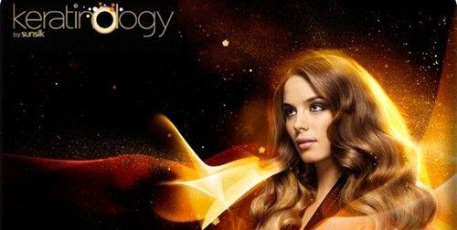 Λαμπερά Μαλλιά με την Keratinology από την Sunsilk
