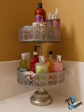 Simple Bathroom Counter Space Saver