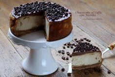 CHEESECAKE AL CAFFE' CON NUTELLA | pastadimandorla