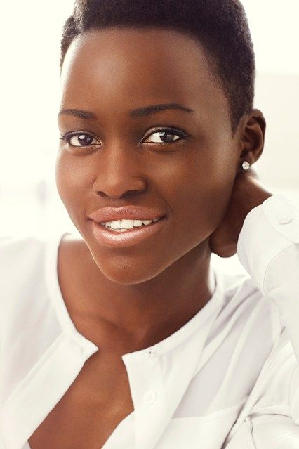 "Lupita Nyong'o is the new face of Lancôme 2014:  ""The Kenyan beauty is Lancôme's first-ever black ambassador.  Françoise Lehmann, General Manager of Lancôme International, said the company's decision to tap Lupita was because she is ""talented and committed, true to her African beauty, and showing a great curiosity and open-mindedness in her career choices."""