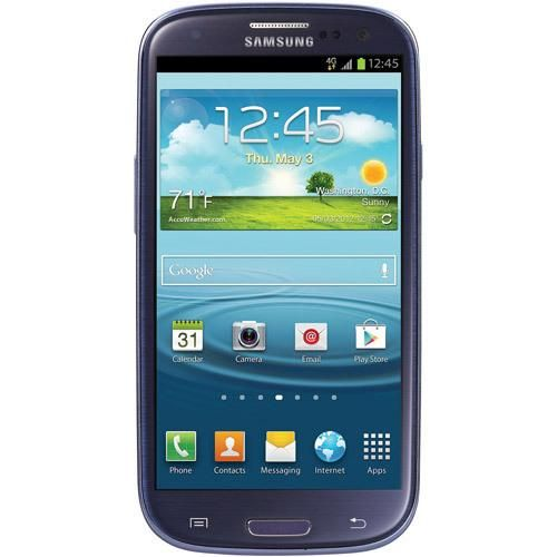 This Straight Talk Samsung Galaxy S III features the Android 4.1 (Jelly Bean) OS. More Details