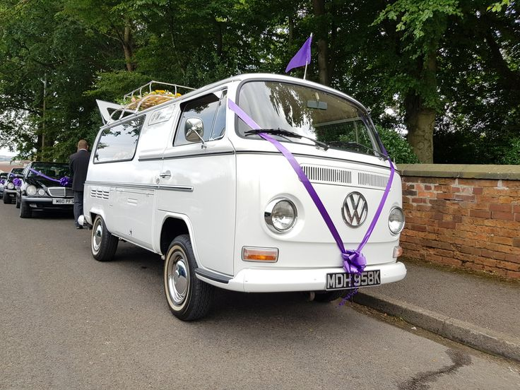 Classic Volkswagen funeral hearse hire. Alternative and very cool hearses ideal for life celebration funerals.