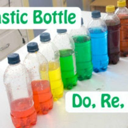 plastic bottle do re mi