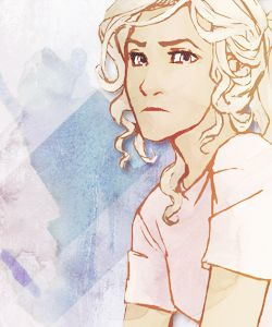 Never bet against Annabeth -I love burdge and viria equally. Their styles are different but I love their depictions of the characters the same. ~ Ellie