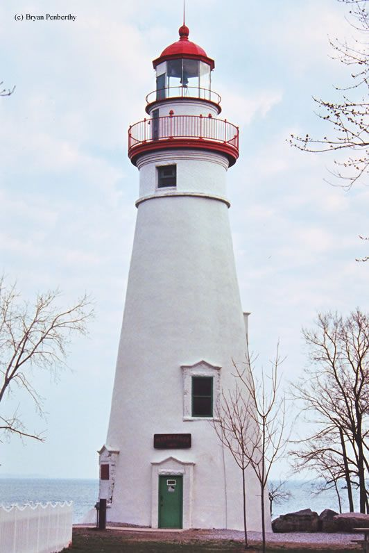 Marblehead Lighthouse (Sandusky, Ohio) - 1821 sits on the shores of Lake Erie.