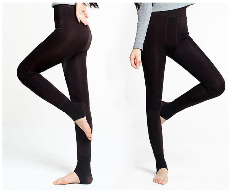 1 пара сексуальные женщины леди непрозрачные ногой колготки колготки ноги бесшовные чулки красоты осень зима теплая бархатные пят Dres купить на AliExpress