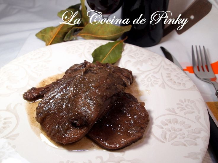 LA COCINA DE PINKY: LENGUA DE TERNERA AL CAFE